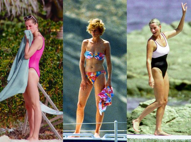 Фото №1 - Принцесса пляжа: бикини-стиль Дианы