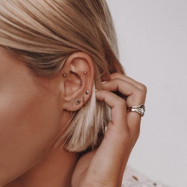Фото №4 - Гид по пирсингу ушей: больно ли бить и как выбрать правильное место