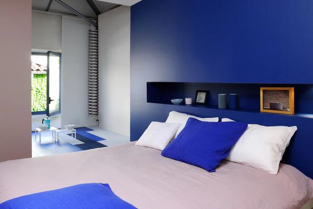 Фото №6 - Цветные сны: Color Blocking в спальне