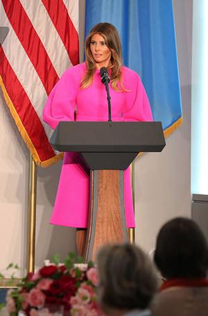 Фото №4 - 5 ложек дегтя: почему стиль Мелании Трамп не так хорош, как кажется