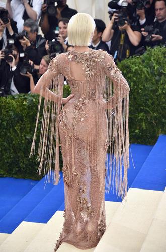 Фото №5 - Не стыдно, когда видно: «голые» наряды MET Gala 2017