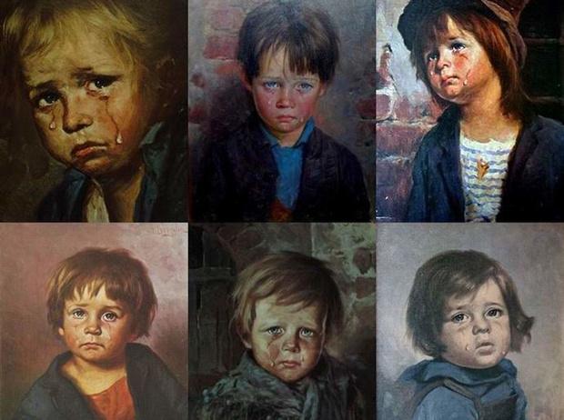 Фото №3 - Месть «Плачущего мальчика»: кого преследовала картина-поджигательница