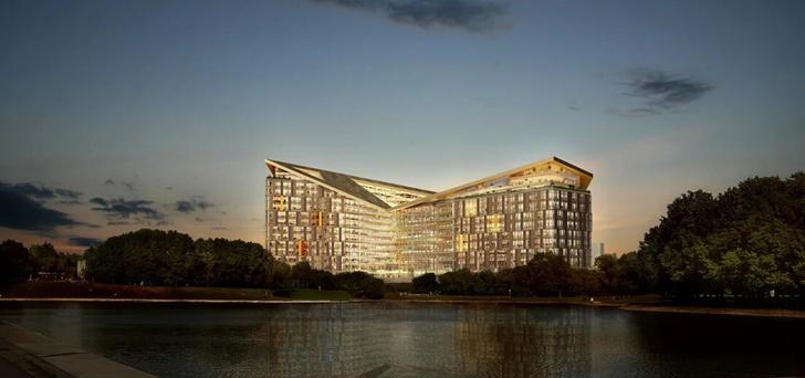 Фото №2 - «Яндекс» показал проект нового московского офиса, и он не хуже кампусов мировых корпораций (фото)