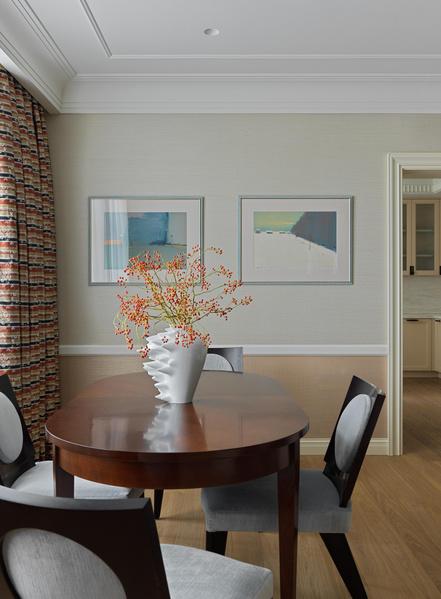 Фото №5 - Американская классика для квартиры в Москве 155 м²