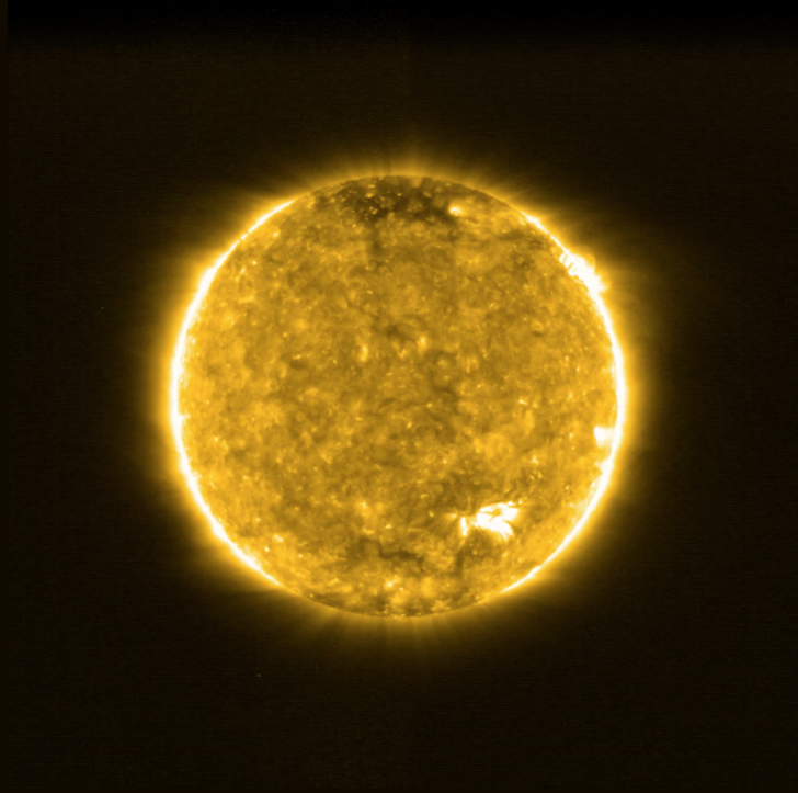 Фото №1 - Солнце с рекордно близкого расстояния