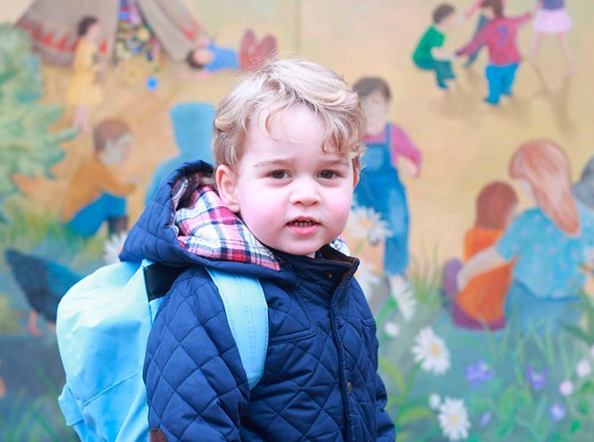 Фото №39 - Принц Джордж Кембриджский: три года в фотографиях