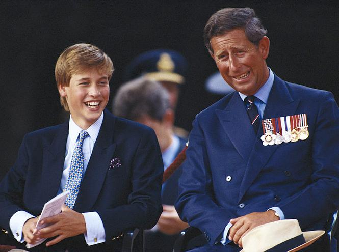 Фото №4 - Два будущих Короля: какими были отношения Чарльза и Уильяма все эти годы