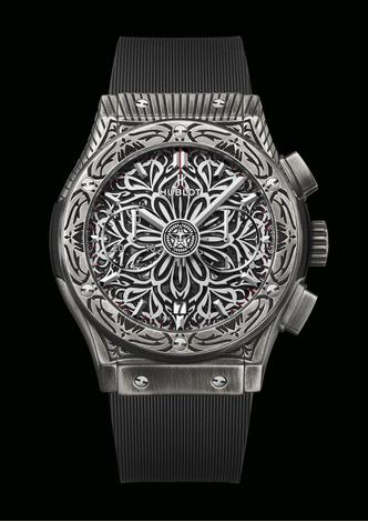 Фото №2 - Символ гармонии: Hublot и Шепард Фейри представили новые стильные часы