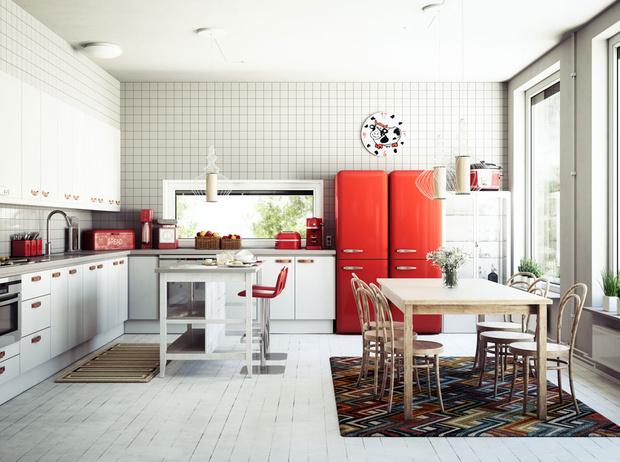 Фото №5 - Как правильно обустроить большую кухню