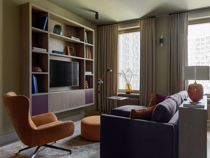 Фото №7 - Все краски осени: уютная московская квартира 70 м²