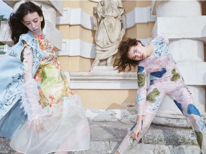Фото №2 - Молодые и талантливые: новые дизайнеры на Mercedes-Benz Fashion Week Russia