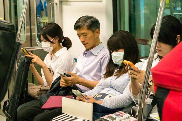 Фото №1 - Ростуризм рекомендует туристам в Южной Корее носить защитные маски
