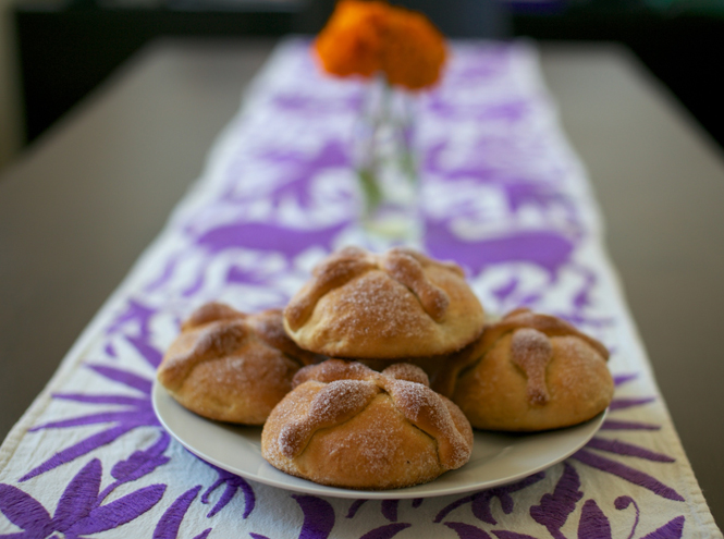 Фото №4 - Что такое Pan de Muerto или Рецепт «хлеба мертвых»