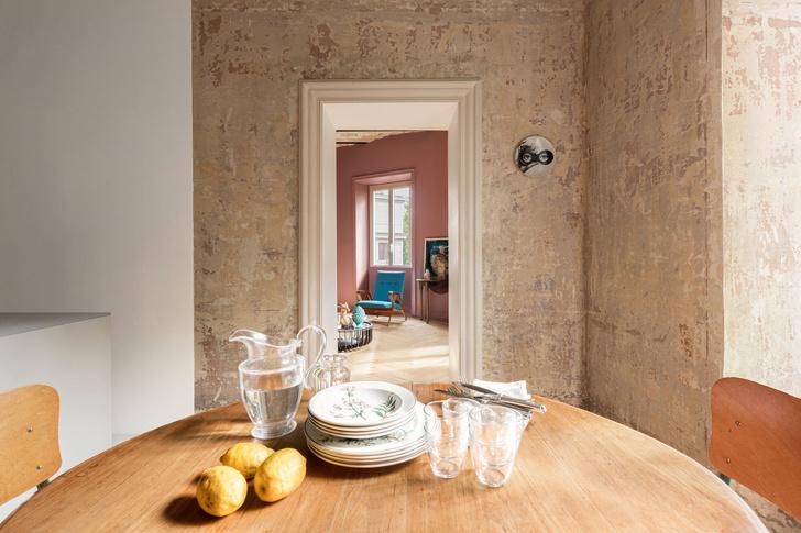 Фото №3 - Яркая квартира в Риме для творческой семьи