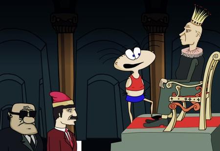Масяня пытается убрать царя с трона в новом злободневном выпуске мультсериала (видео)