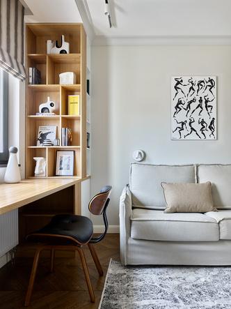 Фото №8 - Трехкомнатная квартира в оттенках синего цвета