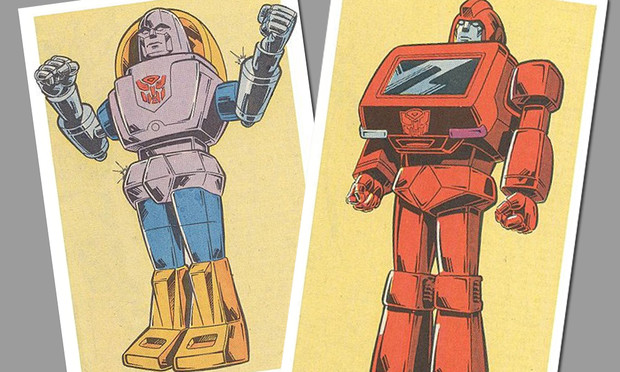 Фото №1 - Как выглядели первые трансформеры в 80-е
