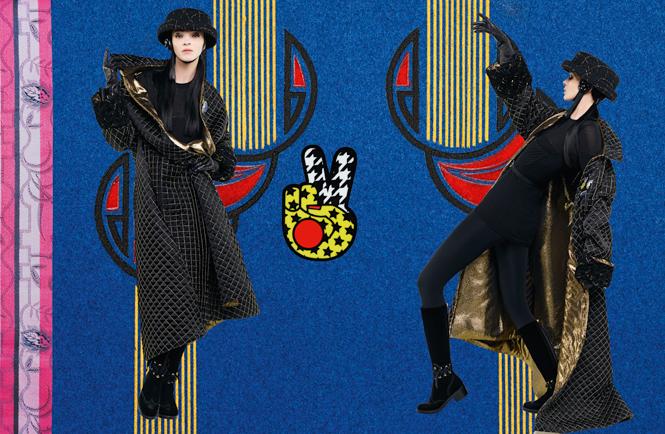 Фото №4 - Коллажи Карла Лагерфельда: креативная кампания Chanel FW 16/17
