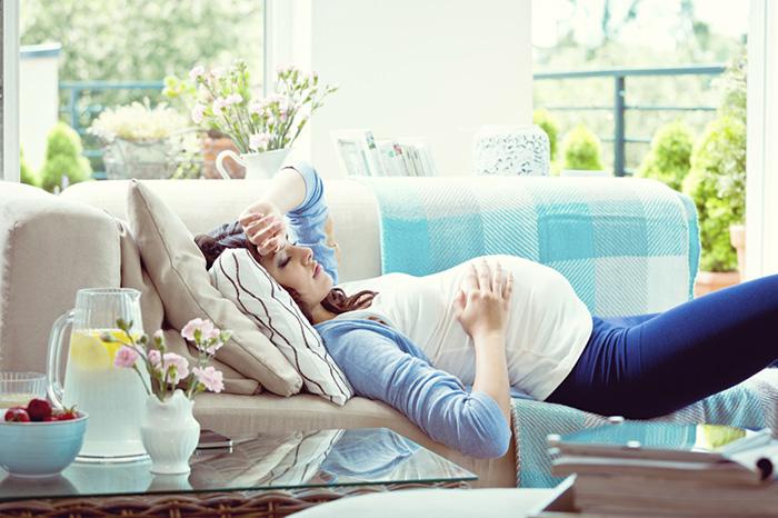 Фото №1 - Метеозависимость у беременных: как с ней бороться