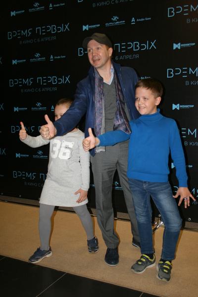 Фото №1 - Евгений Миронов в Краснодаре: приходите в кино всей семьей!