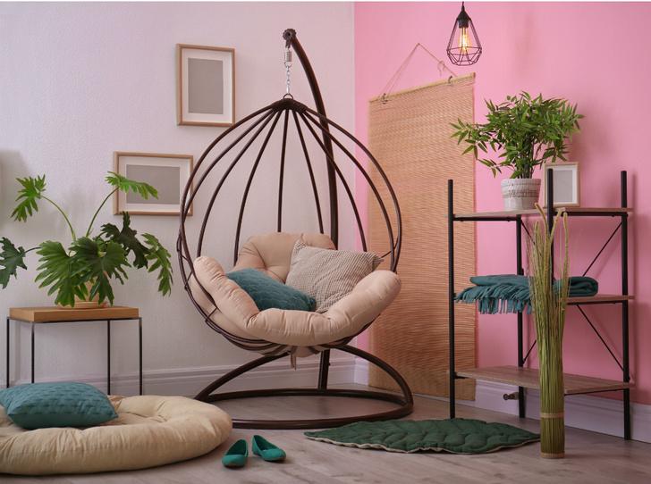 Фото №4 - Подвесное кресло как часть интерьера: советы дизайнеров