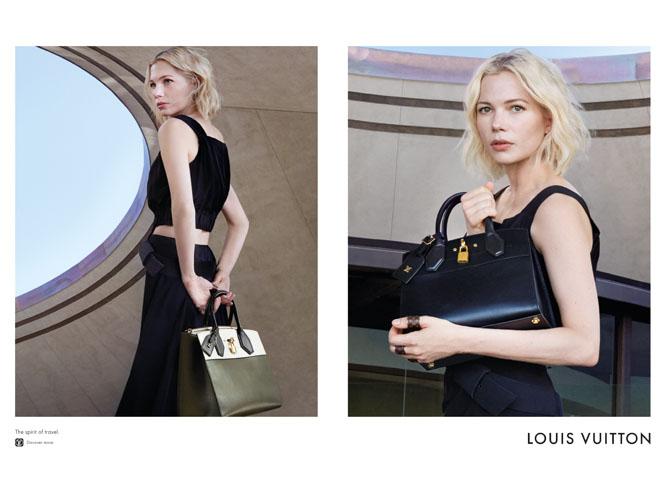 Фото №4 - Дух путешествий: Мишель Уильямс в рекламе Louis Vuitton