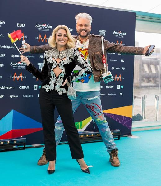 Фото №2 - Киркоров возмутил назойливым поведением на открытии «Евровидения»
