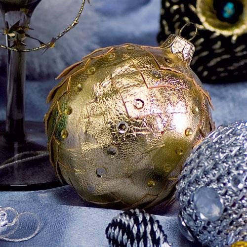Фото №4 - Своими руками: новая жизнь елочных шаров