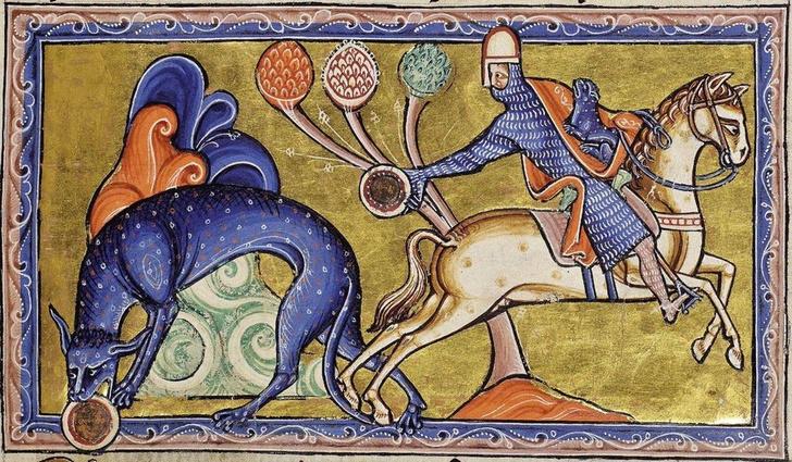 Фото №3 - Как в старину художники изображали животных, которых никогда не видели (25 странных существ)