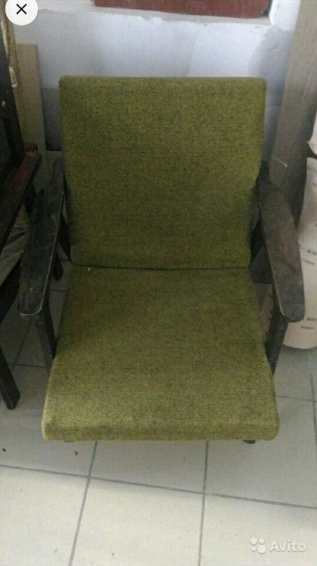 Фото №3 - Парни отреставрировали старое советское кресло и сняли процесс на видео