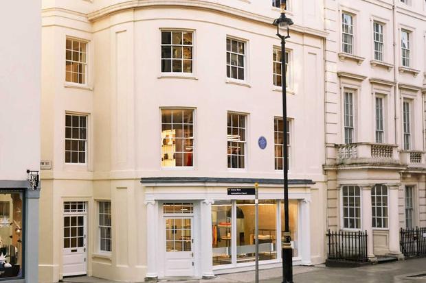 Фото №1 - Новый бутик в Лондоне по дизайну Dimorestudio