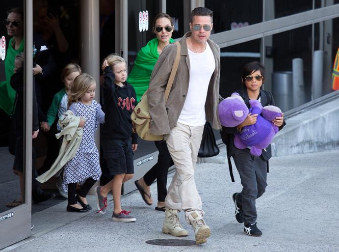 Фото №1 - Дети раздора: причина развода Анджелины Джоли и Брэда Питта
