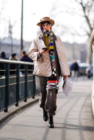 Фото №43 - Шапки, повязки, платки: лучшие головные уборы для зимы 2018