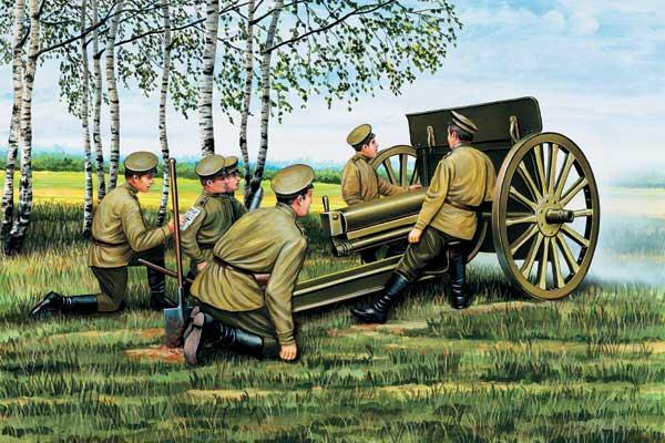 Фото №1 - Звездный час артиллерии