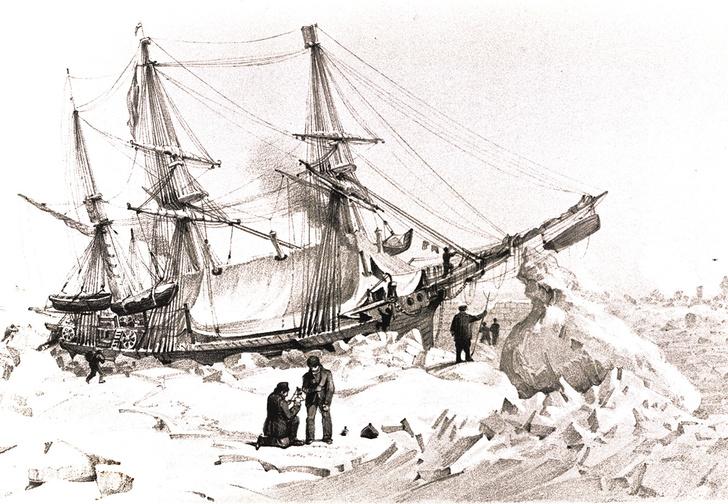 Фото №2 - Потерянное покорение: что на самом деле случилось с пропавшими кораблями «Эребус» и «Террор»