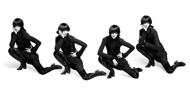 Фото №5 - Новая коллекция Chanel в объективе Карла Лагерфельда