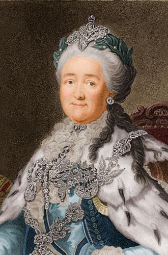 Фото №2 - Бриллианты и власть: как Екатерина II использовала украшения для демонстрации своей силы