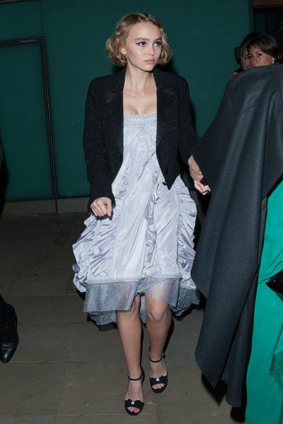 Лили-Роуз Депп на презентации Chanel