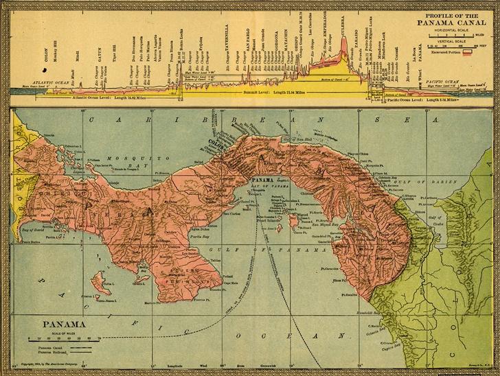 Фото №1 - Разрезая континенты: 9 фактов о Панамском канале