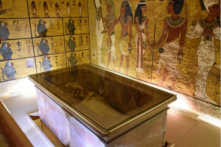 Фото №1 - Гробница Тутанхамона вновь открыта для посетителей