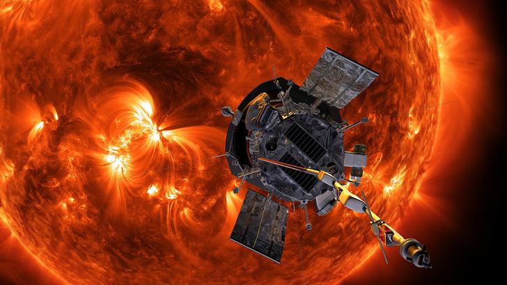 Фото №1 - Космический аппарат приблизился на рекордное расстояние к Солнцу