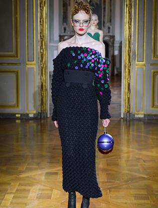 Фото №4 - Неделя Высокой моды в Париже: Ulyana Sergeenko Couture F2015