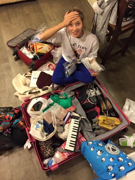 Фото №1 - Регина Тодоренко взяла в кругосветку только один чемодан