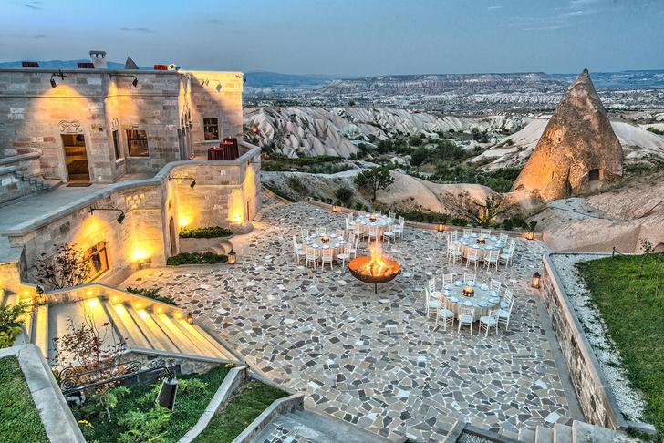Фото №4 - Удивительный отель с номерами в пещерах в Турции