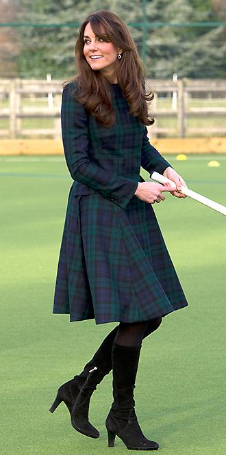 Фото №4 - В модном положении: две беременности герцогини Кембриджской (сравним?)
