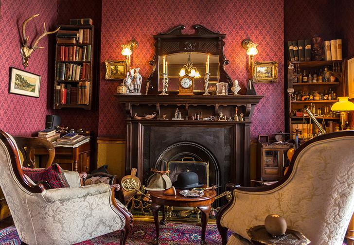 Лондон, Бейкер-стрит, 221б, Музей Шерлока Холмса