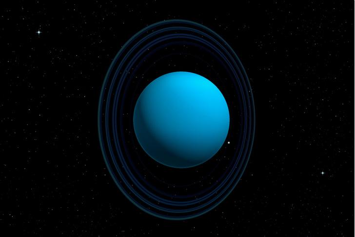 Фото №1 - Почему ось Урана расположена «горизонтально»?