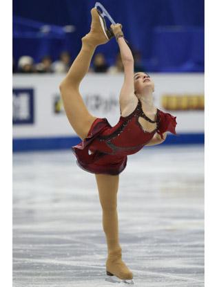 Фото №1 - Самые стильные незамужние фигуристки России