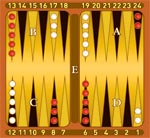 Фото №1 - Как играют в бэкгамон?