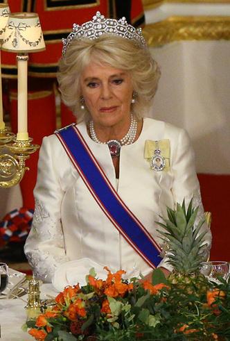 Фото №13 - Парад тиар в Букингемском дворце (и самая большая – у королевы Максимы)